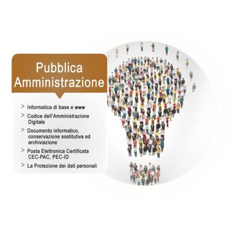 Corso online Pubblica Amministrazione