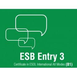 Esami di Certificazione di Lingua Inglese  ESB ESOL Entry 3