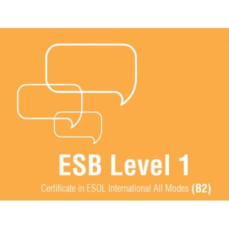 Esami di Certificazione di Lingua Inglese  ESB ESOL B2
