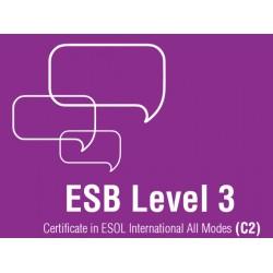 Esami di Certificazione di Lingua Inglese  ESB ESOL C2