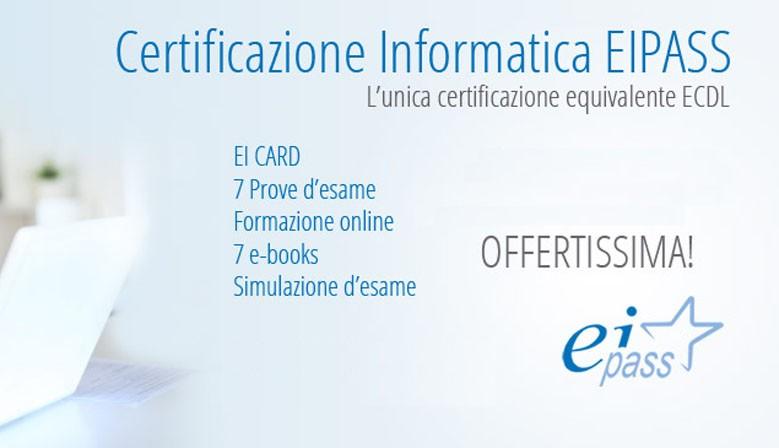 Certificazione Informatica Eipass